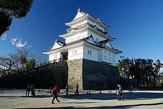 Siege of Odawara (1590) - One of the towers of Odawara Castle