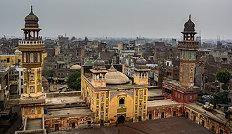 Wazir Khan Mosque - The Wazir Khan Mosque is considered to be the most ornately decorated Mughal-era mosque