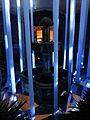180 Llum BCN, instal·lació Pluja de llum, pati de ca l'Ardiaca.JPG