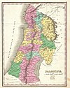 100px 1827 finley map of israel   palestine  holy land   geographicus   palestine finely 1827