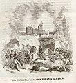 1845, Historia de Cabrera y de la guerra civil en Aragón, Valencia y Murcia, Los carlistas atacan y toman Almadén.jpg