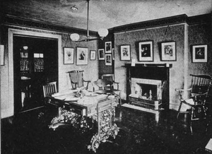 The Club of Odd Volumes - Image: 1889 Club of Odd Volumes exhibit at Boston Artclub