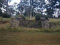 1891 - Ingleburn Military Heritage Precinct and Mont St Quentin Oval - Steps from Viewing Dias to Mont St Quinten Oval (5060333b8).jpg