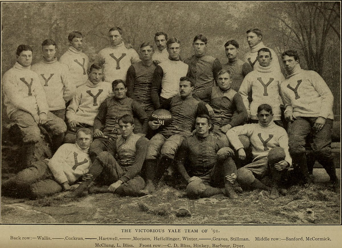 File:1891 Yale football team.jpg - Wikimedia Commons