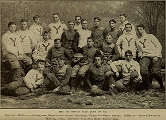 1891 college football season - 1891 Yale  Bulldogs