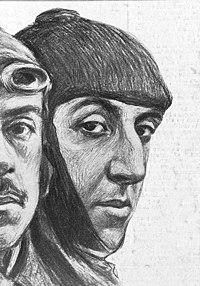 1914-02-21, La Esfera, Emilio Herrera Linares y José Ortiz Echagüe, Gamonal (cropped) Ortiz Echagüe.jpg