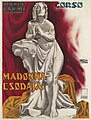 1917 Lipót Sátori Plakat Madonna Csodája (Das Wunder der Madonna), Film mit Maria Carmi, Ungarn, Seidner (Budapest).jpg
