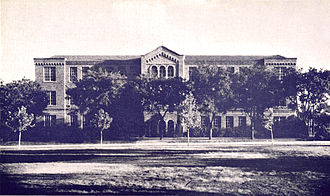 University of Texas at Arlington - The Science Building at the North Texas Agricultural College in 1941. The building was constructed in 1928 and has since been renamed Preston Hall. It is one of the oldest surviving structures on the campus of the University of Texas at Arlington.