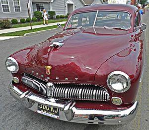 Eugene Turenne Gregorie - 1949 Mercury, Edsel's last automobile