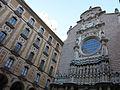 194 Basílica de Montserrat, atri i façana.JPG