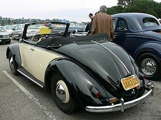Hebmüller - 1950 Hebmüller cabriolet