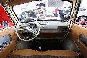 BMW 600 - BMW 600 interior
