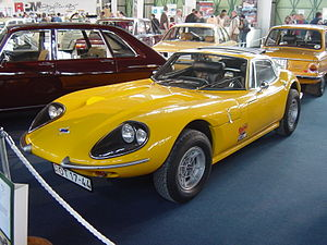 Marcos Engineering - 1970-1971 Marcos 3 litre, Volvo-engined