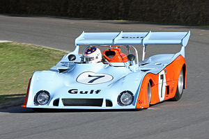Mirage (race car) - 1974 Gulf GR7