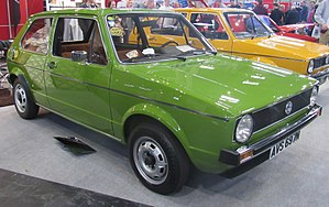 Volkswagen Golf Mk1 Wikipédia A Enciclopédia Livre