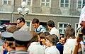 1976 Bezirkshauptstadt Schwerin, Empfang der erfolgreichen Schweriner Boxer Jochen Bachfeld und Richard Nowakowski.jpg