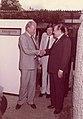 1984. Octubre, 9. Rafael Caldera y Willy Brandt en Tinajero, Caracas.jpg