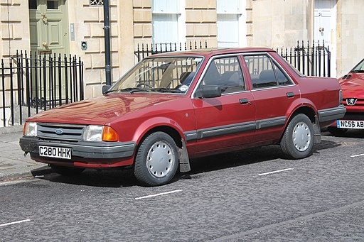 1985 Ford Orion 1.6 Ghia (9703742418)