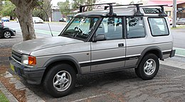 1994 Land Rover Discovery 3-door wagon (23045379742) (cropped).jpg