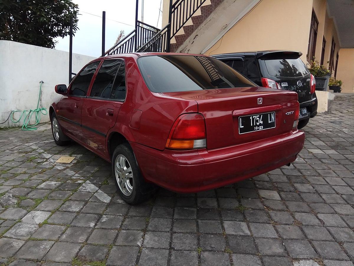 File:1996 Honda City (rear), Bandungan, Semarang.jpg - Wikimedia Commons