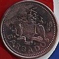 1998 Barbados Copper Obverse (5645627603).jpg