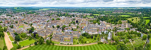 University Of Oxford Wikipedia - Where is oxford located