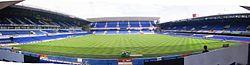 Portman Road, home ground of Ipswich Town F.C.