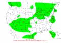 2002-09-11 24-hr Precipitation Map NOAA.png