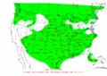 2002-10-28 24-hr Precipitation Map NOAA.png