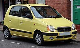 2002 Hyundai Atoz 1.0 Front