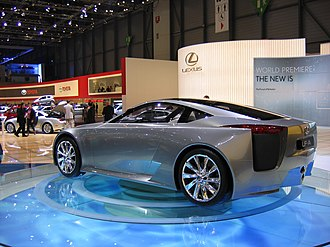 Lexus LFA - The first Lexus LF-A concept at the 2005 Geneva Motor Show