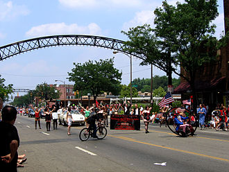 The Short North - Image: 2005 Doodah Parade 01