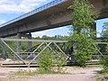 2008, Älvleden Avesta, Gångbron under Åsbobron under konstruktion - panoramio.jpg