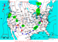 2008-04-09 Surface Weather Map NOAA.png