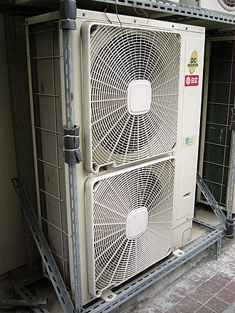 Hitachi - 2008 Hitachi air conditioning outdoor unit