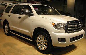 Toyota Sequoia 5.7 4WD: ����, ����������� ��������������, ����