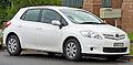 2009-2010 Toyota Corolla (ZRE152R MY10) Ascent 5-door hatchback 01.jpg