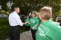 20110913-governor votes and has lunch with mayor rawlings blake-jb (6166164698).jpg