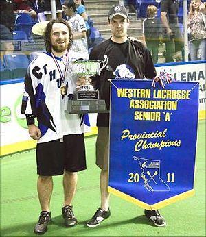Langley Thunder - Image: 2011 WLA Champs