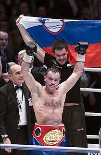 Jan Zaveck Slovenian boxer