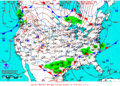2012-01-09 Surface Weather Map NOAA.png