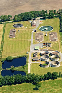 Wastewater treatment Converting wastewater into an effluent for return to the water cycle