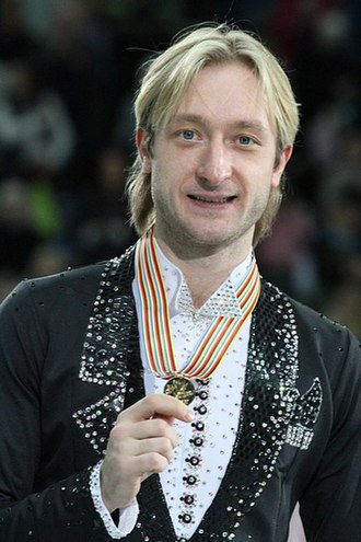 Evgeni Plushenko - Evgeni Plushenko at the 2012 European Figure Skating Championships