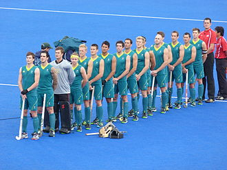 Australia men's national field hockey team - Australia at the 2012 Olympics