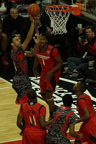 Nigel Williams-Goss - Williams-Goss at the 2013 McDonald's All-American Boys Game