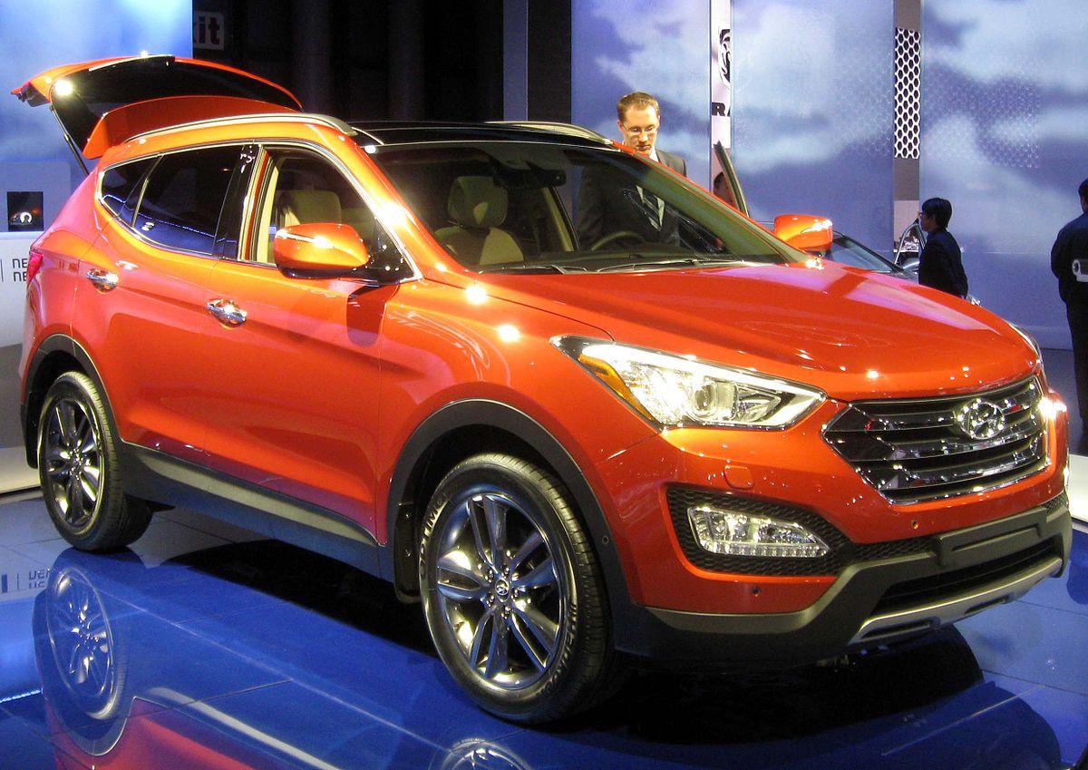 Hyundai Santa Fe Википедия
