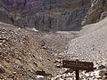 2014-09-15 12 05 33 View from the end of the Glacier Trail towards Wheeler Peak and the Wheeler Peak Glacier in Great Basin National Park, Nevada.JPG