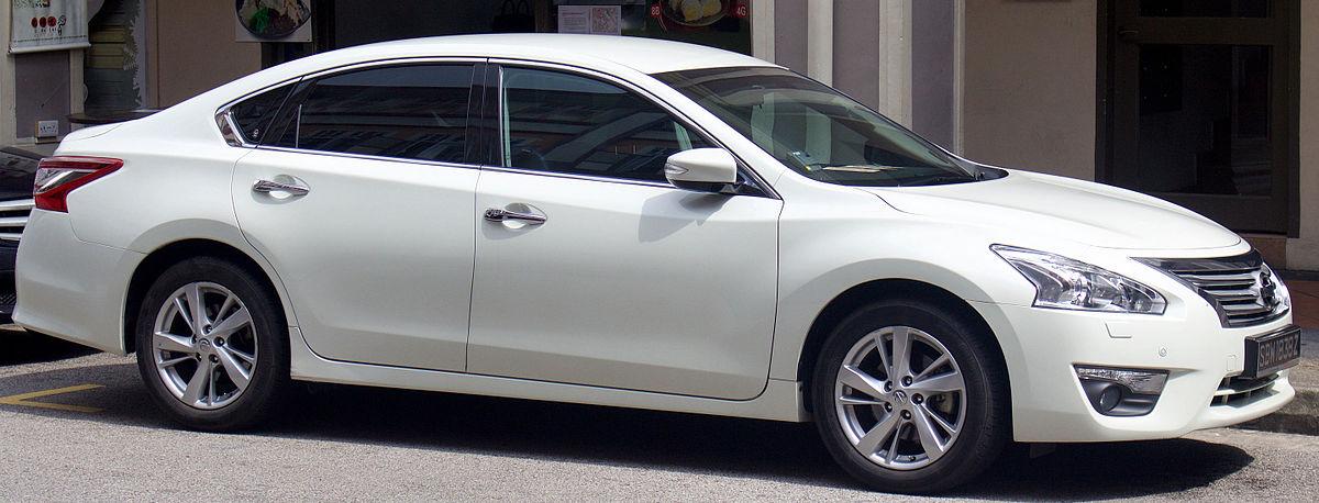 Nissan Teana Википедия