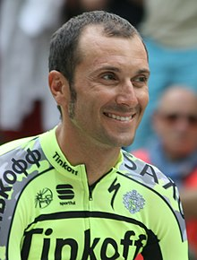 2015 Tour de France team presentation, Ivan Basso.jpg