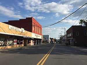 Broadway, Virginia - Main Street in Broadway